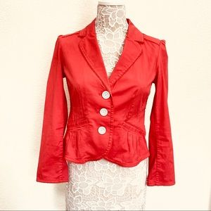 SONOMA Lifestyle Women's Coral Red Jacket